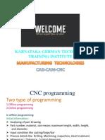 CNC Programming PPT