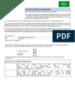 REG-MIB-717 Declaración Jurada Proveedor Persona Jurídica