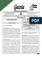 6 de Junio Gaceta 34,963