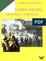 García Carcel, Ricardo. - La leyenda negra [EPL] [2019].pdf