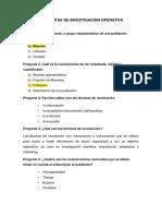 PREGUNTAS DE INVESTIGACION OPERATIVA