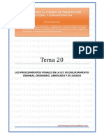 _Tema 20 - Proceso penal. Ordinario, abreviado y jurado.pdf