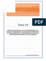_Tema 18 - Proceso civil. Especiales.pdf