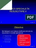 2014 Situatii speciale in resuscitare II