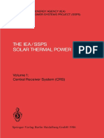 ( ) Dr. sc. nat. Paul Kesselring  (auth.),  Dr. sc. nat. Paul Kesselring,  Clifford S. Selvage BS  (eds.)-The IEA_SSPS Solar Thermal Power Plants - Facts and Figures - Final Report of the Internationa(1)