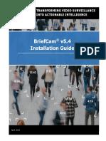 BriefCam v5.4 Installation Guide