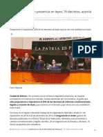 30/Diciembre/2019 Senadoras marcan presencia en leyes 16 decretos autoría de mujeres