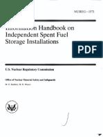 HAND BOOK SPENT FUELNUREG.pdf