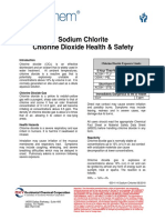 Chlorine Dioxide Health and Safety