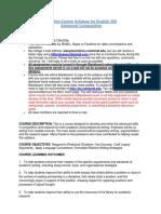 Detailed Course Syllabus(1)