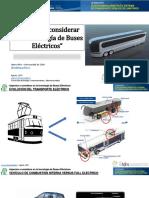 UCHILE - Aspectos a considerar en la tecnologia de buses electricos