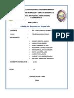 informe  de conservas de pescado taller 2