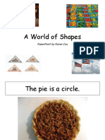 A World of Shapes