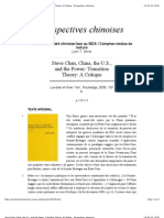 Steve Chan, China, The U.S., And the Power- Transition Theory_ a Critique - Perspectives Chinoises