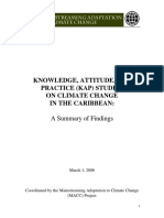 Knowledge, Attitude, and Practice    (KAP) Studies on Climate Change in the Caribbean_ A Summary of Fin