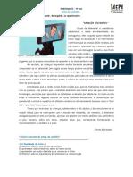 Artigo de opinião_Texto fabricado_Análise