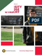 Brochure of Utrecht - Nederlands, Studies.