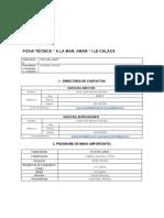 Ficha Técnica-A La Mar,Amar PDF
