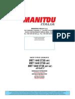 Manitou-MRT1440 en MRT1840 y 1640