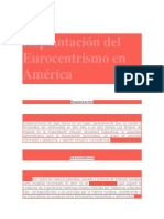El Eurocentrismo en América.docx