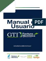 Manual_Usuario GTI FACTURA ELECTRONICA