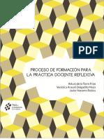 Proceso de formación para la práctica docente reflexiva - Arturo de la Torre Frías