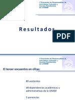RESULTADOS 3ER ENCUENTRO