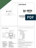 Kaito KA2031 NOAA WthrAlrtRadio Operation Manual