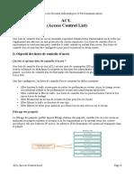 ACL IPv4 && IPv6