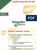 NORME NF C15-100 Schnédar électrique