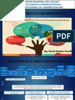 7. GESTION POR RESULTADOS EN EL SECTOR PÚBLICO