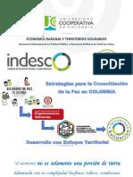 Territorio Solidario y Economìa Naranja