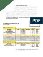 INFORME-PESO DE EDIFICACIÓN