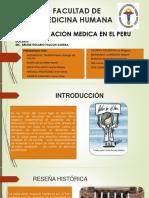 EDUCACIÓN MEDICA EN EL PERU