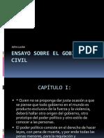 Análisis del Ensayo sobre el Gobierno Civil-Locke