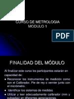 CURSO DE METROLOGIA MOD 1