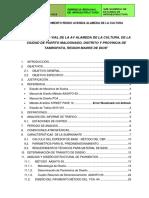 DISEÑO PAVIMENTO RIGIDO  ALAMEDA 2015