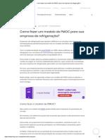 Como fazer um modelo de PMOC para sua empresa de refrigeração_