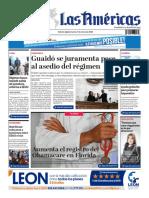 DIARIO LAS AMÉRICAS Edición digital del martes 7 de enero de 2020