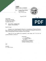 Michael Clark bill of particulars