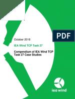 IEA Wind Task 27 Technical Report Case Studies 2018