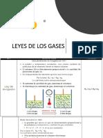 Leyes de los gases con Ejercicios