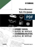 Yamaha Owners Manual XLT1200