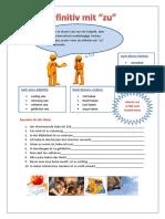Infinitiv Mit Zu Grammatikerklarungen Grammatikubungen 59762