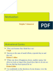 Motivation Theory and Concepts