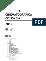 Informe sobre la industria cinematográfica en Colombia