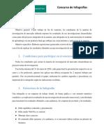 Bases del concurso de infografías 2020-1