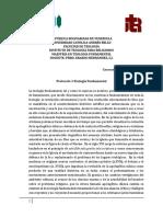 Protocolo I Teología Fundamental
