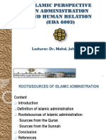 4 ISLAMIC PERSPECTIVE IN ADMINISTRATION_ presentation