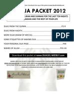 the_final_dua_packet_2012